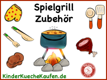 Kindergrill - Spielgrill Zubehoer